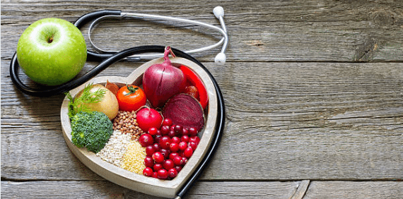 Functional Medicine food and stephoscope