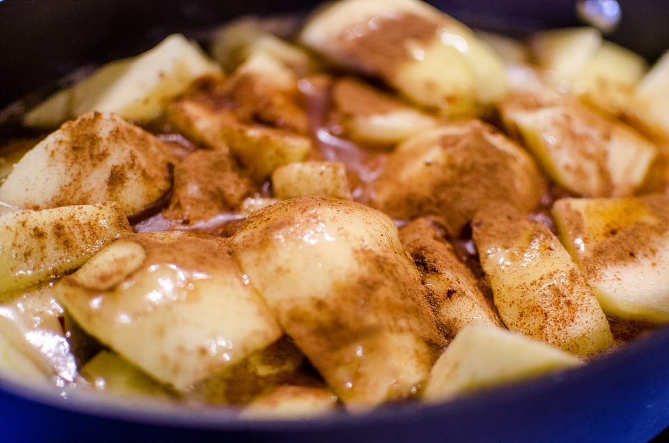 Picture of stewed apples