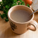 Cup of bone broth