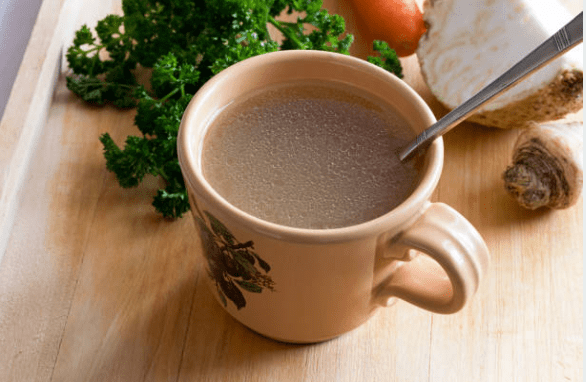 Cup of bone broth