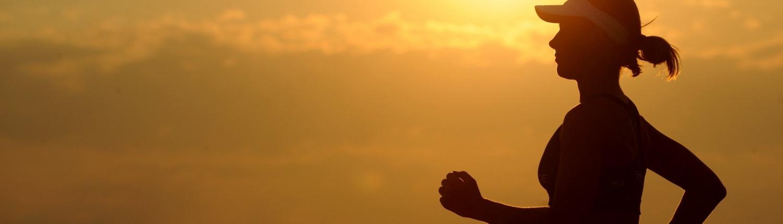 Women with a healthy gut running