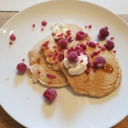 Picture of keto pancakes