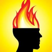 head on fire through autoimmunity